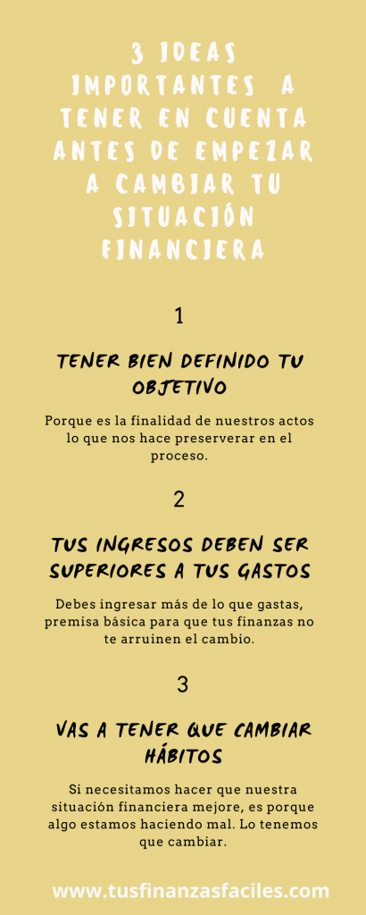 ANTES DE CAMBIAR TU SITUACIÓN FINANCIERA